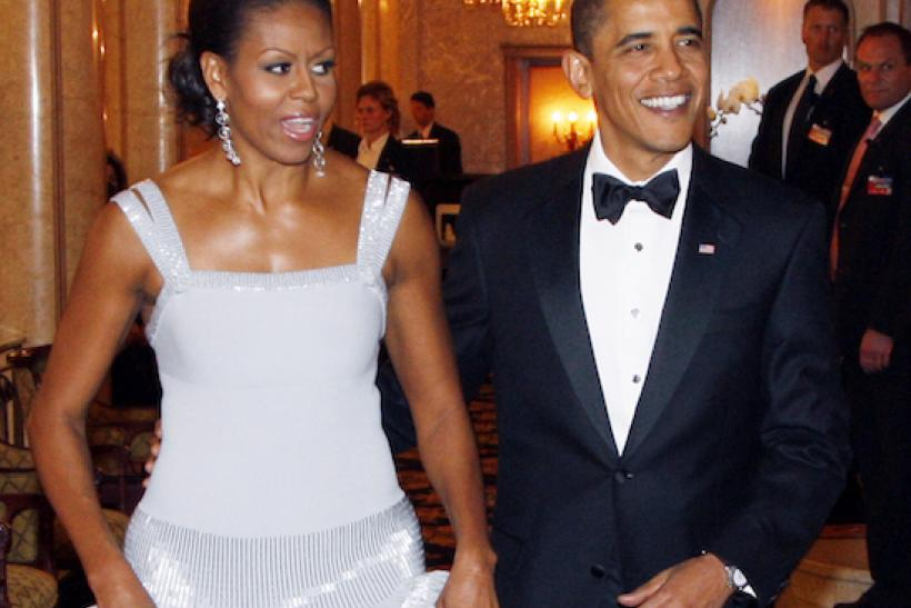 Nobel Peace Prize Banquet Wearing Azzedine Alaia
