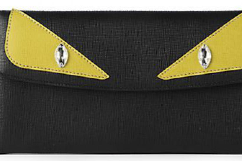 Monster Leather Wallet, Fendi $500