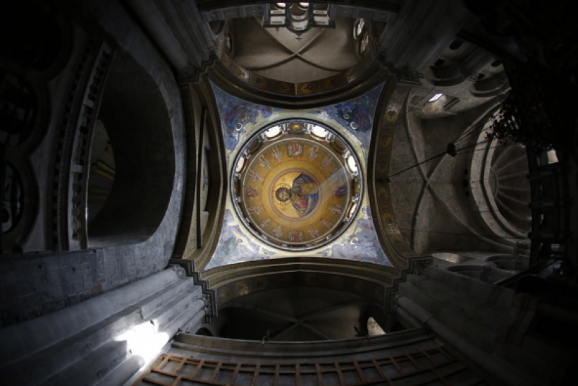 Thieves rob the iconic Basilica of the Transfiguration in Israel.
