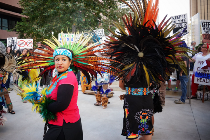 National Native American Heritage Month starts on Tuesday.