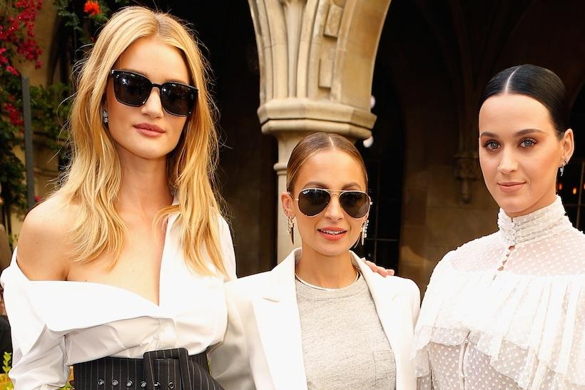 Rosie Huntington-Whiteley, Nicole Richie, Katy Perry and Amber Valletta