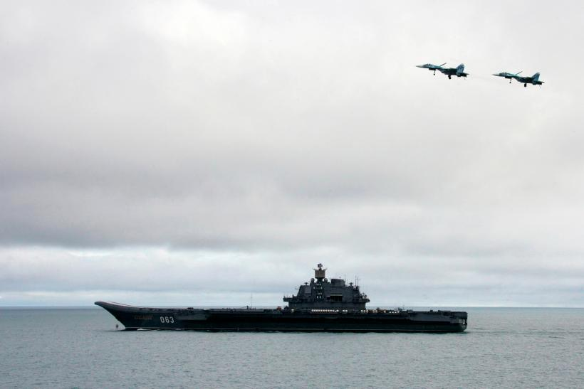 russia aircraft carrier