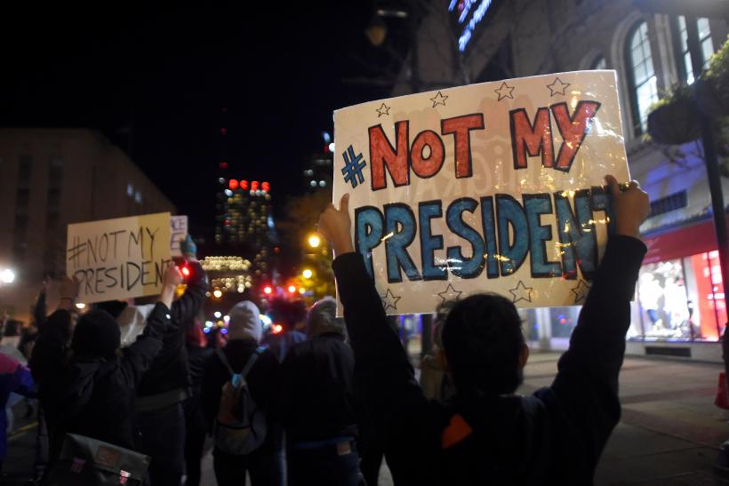 Anti-trump protests