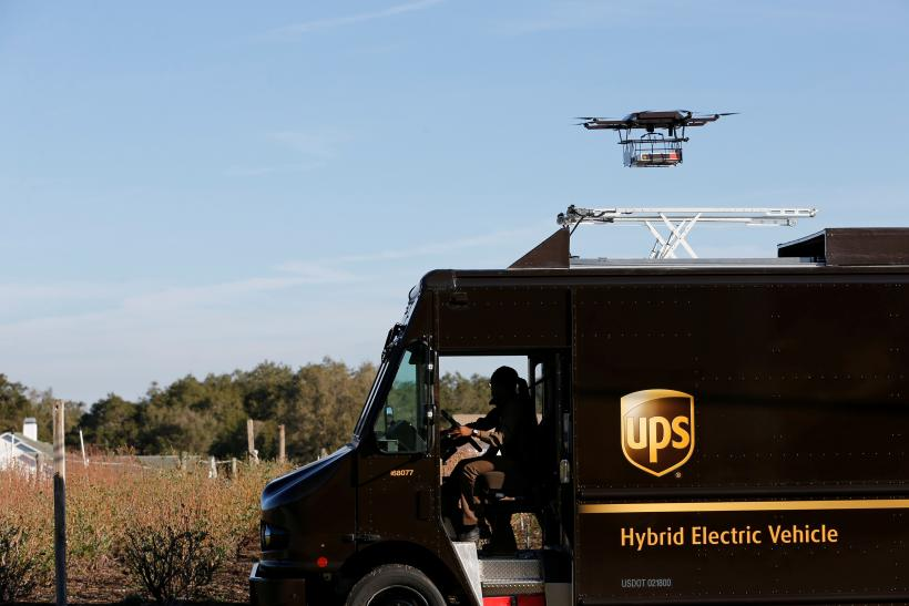 Drone Delivery Service UPS Successfully Tests First Residential In Florida