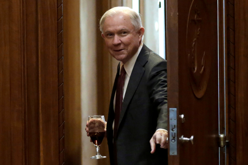 Jeff Sessions says there is 'real violence' surrounding the legal marijuana market.