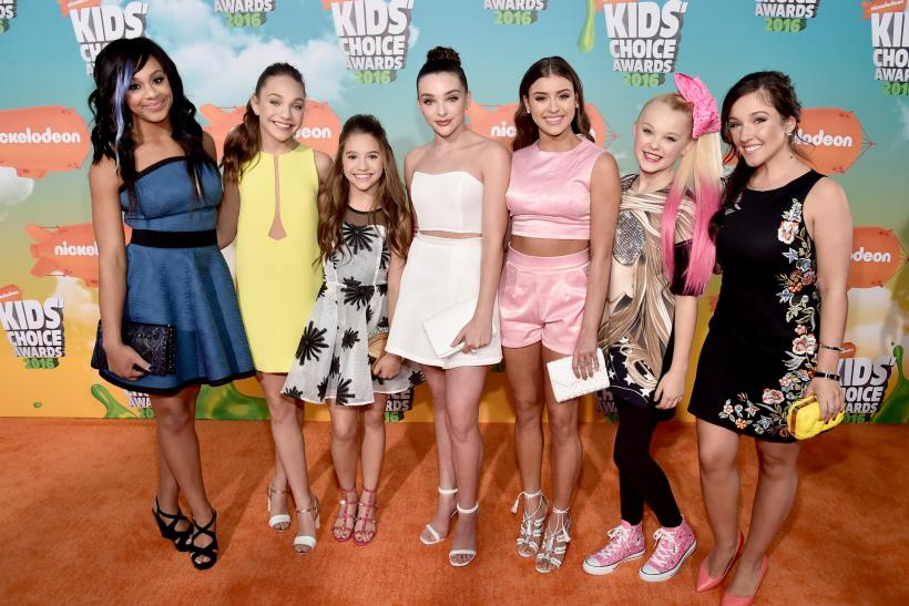 Dance moms stars where are they now where to follow for 1234 get on the dance floor star cast