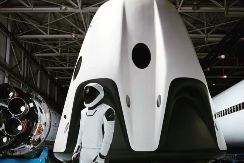 elon musk spacex suit