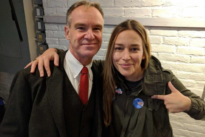Marc Fliedner and Piper Perabo