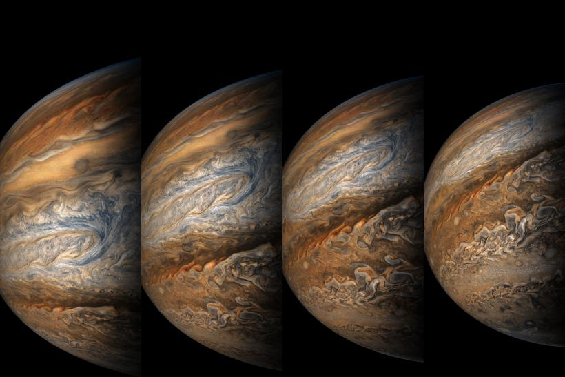 8th approach of jupiter by Juno