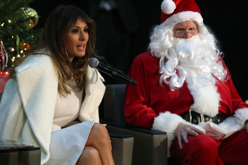 Melania Trump wants to go to a deserted island