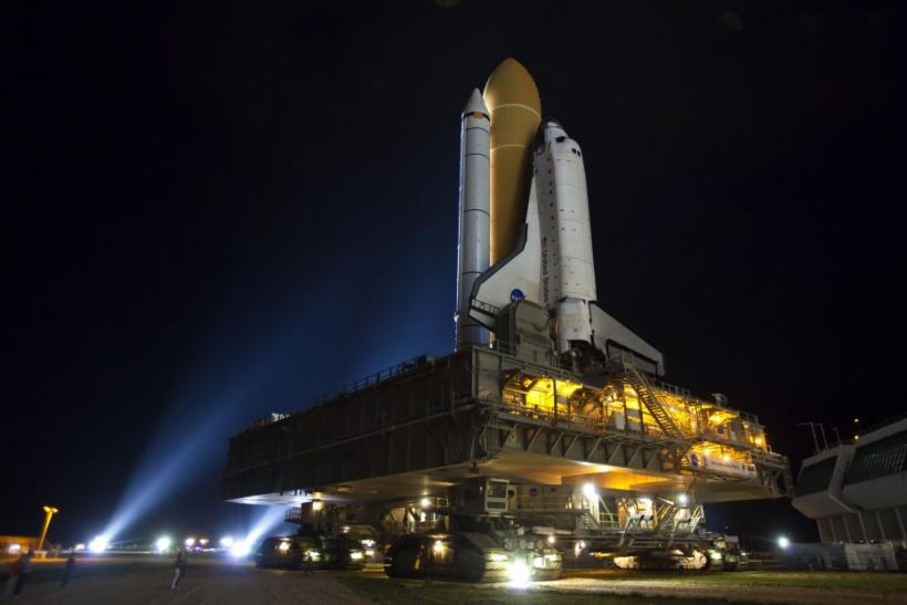 NASA Space Shuttle AtlantisRollout to Kennedy Space Center's Launch Pad