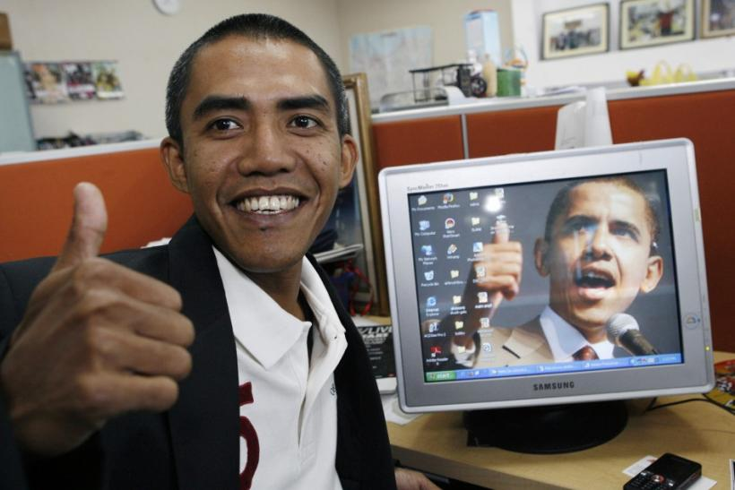 Obama's Look-a-Likes bear striking resemblance to him