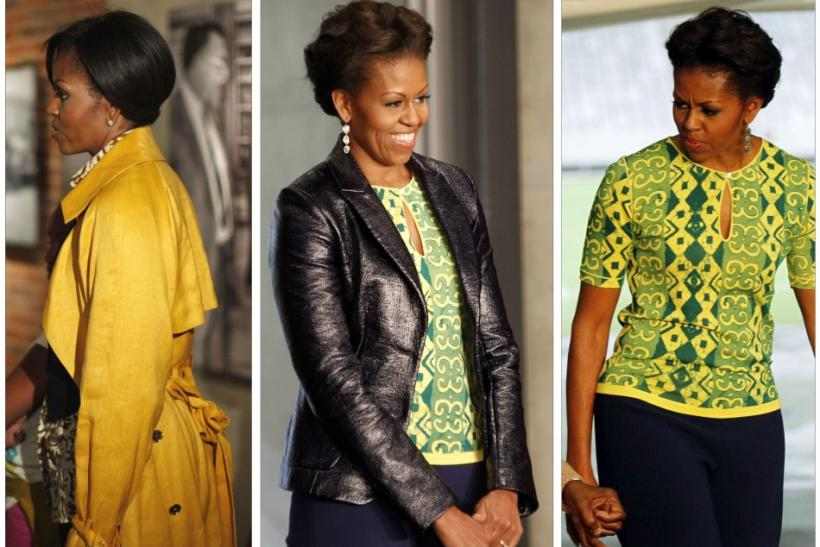 Michelle Obama embraces fashion during her visit to South Africa and