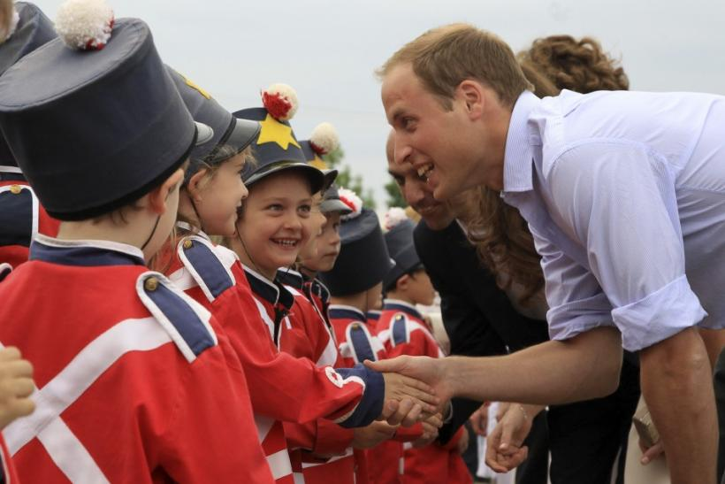 Kate-mania sweeps young spectators; Duchess admits desire to start a family.