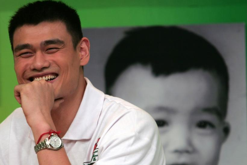 Yao ming some of his best highlights from the nba photos