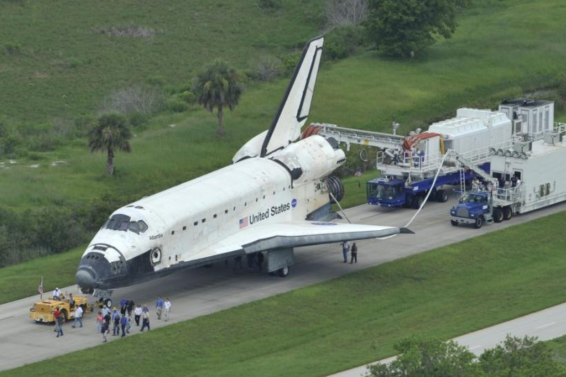 space shuttle after landing - photo #4