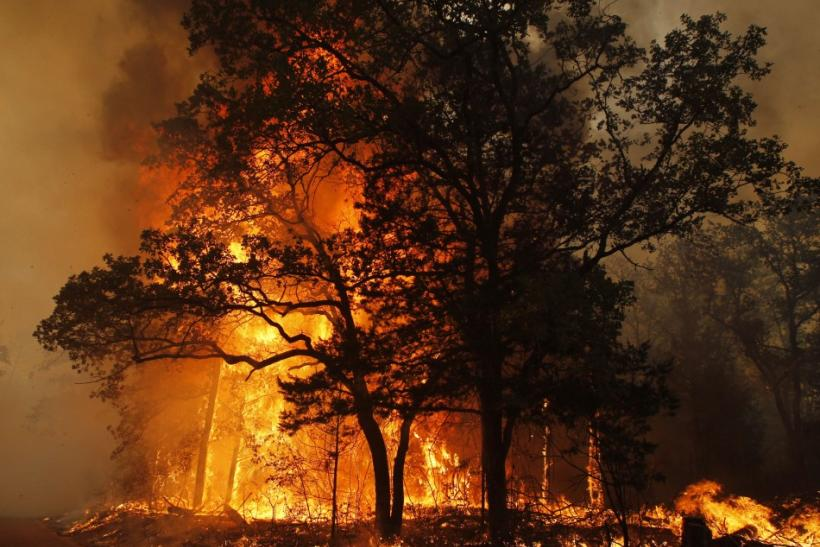 Wildfire in Texas