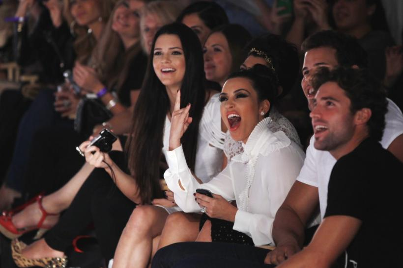 Kim Kardashian Cheers for Younger Sister Kylie's NYFW Debut.