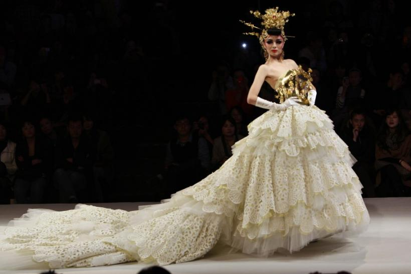 China fashion week haute couture wedding dresses grace for Haute couture week
