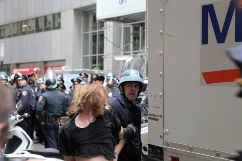 Occupy Wall Street Protester Arrest