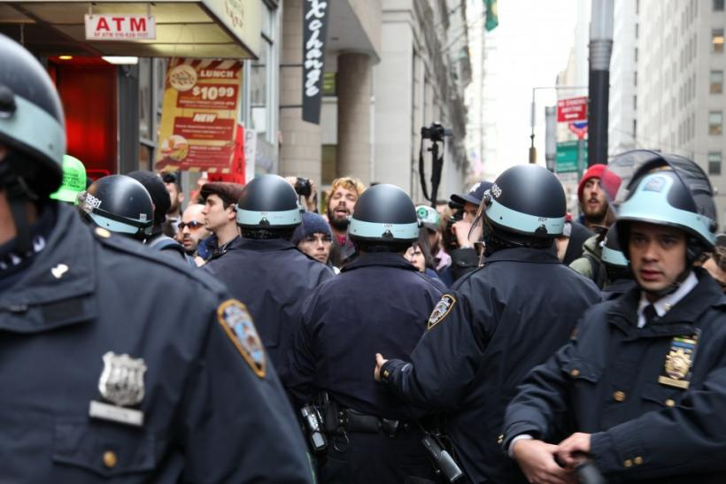Occupy Wall Street Police Line