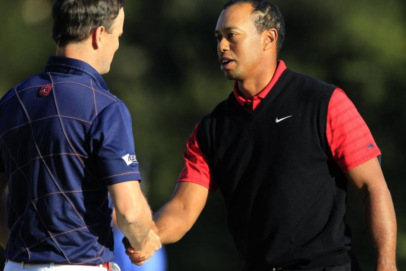 Tiger Woods Wins 2011 Cevron, First Tournament Victory Since Sex Scandal [PHOTOS]