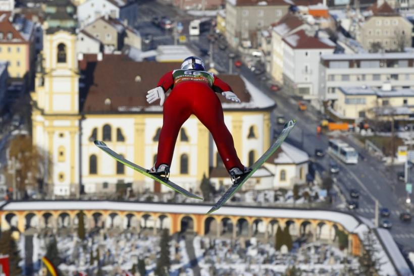 Top Pictures of Four Hills Ski Jumping Tournament