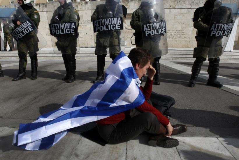 Athens Protester