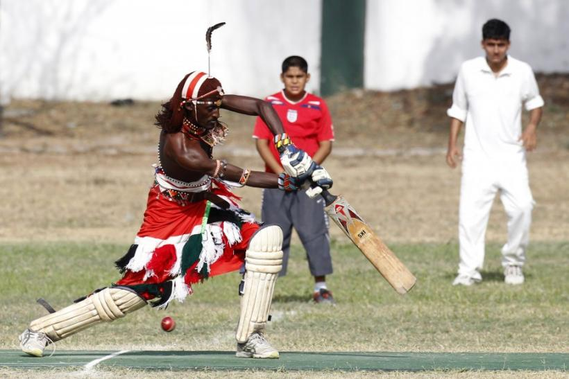 Kenya's Maasai 'Warriors' Campaigns for Healthy Lifestyle Through Playing Cricket