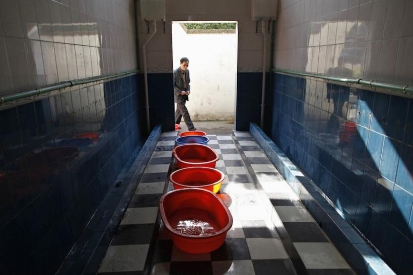 Collecting Urine For Virgin Boys Eggs