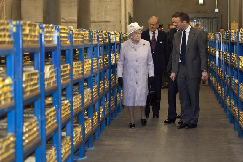The Queen was escorted by financial and monetary official during her tour, the eighth of her lifetime