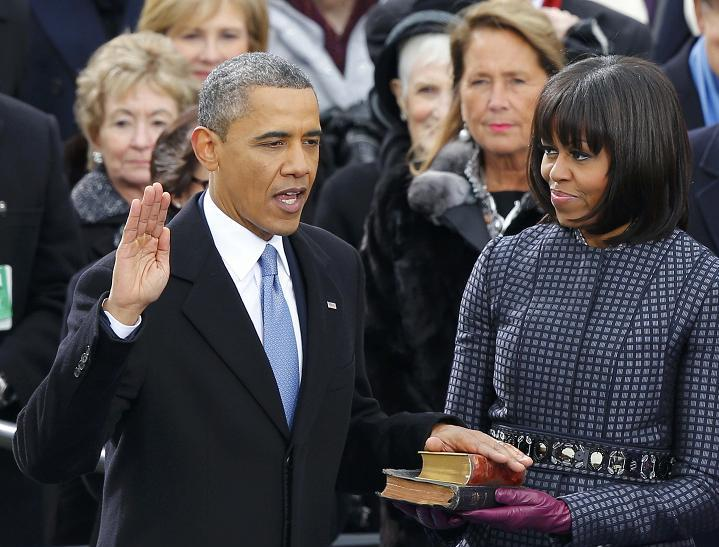 Inaug Obama Michelle close Jan 2013 2