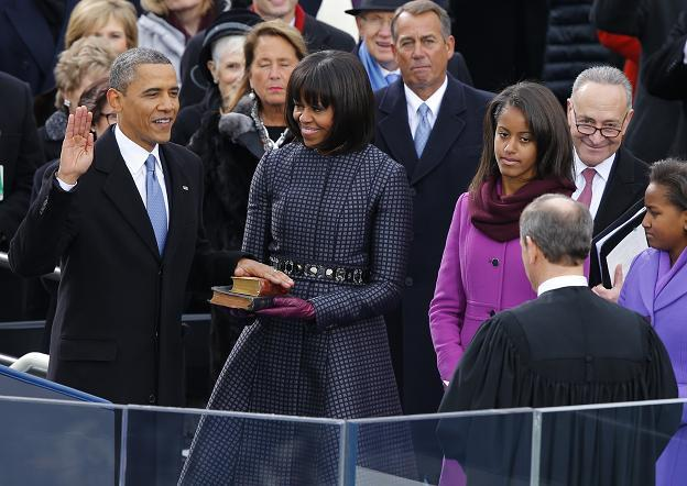 Inaug Obama swear in Jan 2013 2