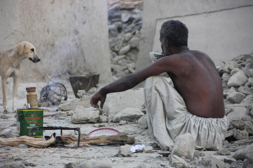 Pakistan Earthquake Survivor