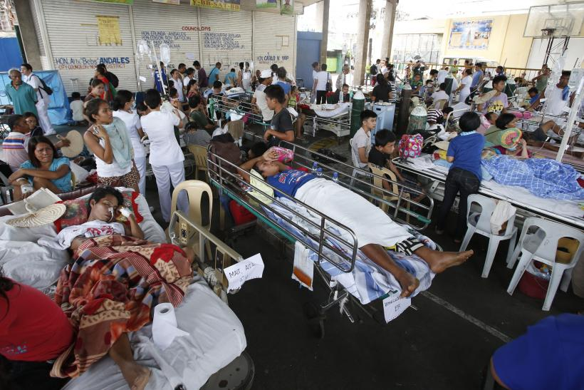Philippines earthquake patients
