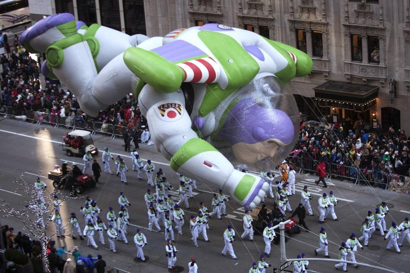 Buzz Lightyear Float Thanksgiving Parade