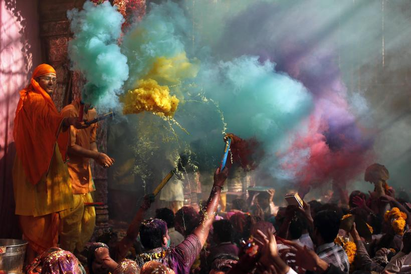 Holi Vrindavan Cloud March 13