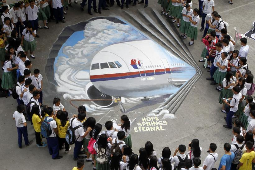malaysia mh370 artwork March 17 1