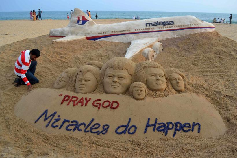 malaysia mh370 artwork March 9
