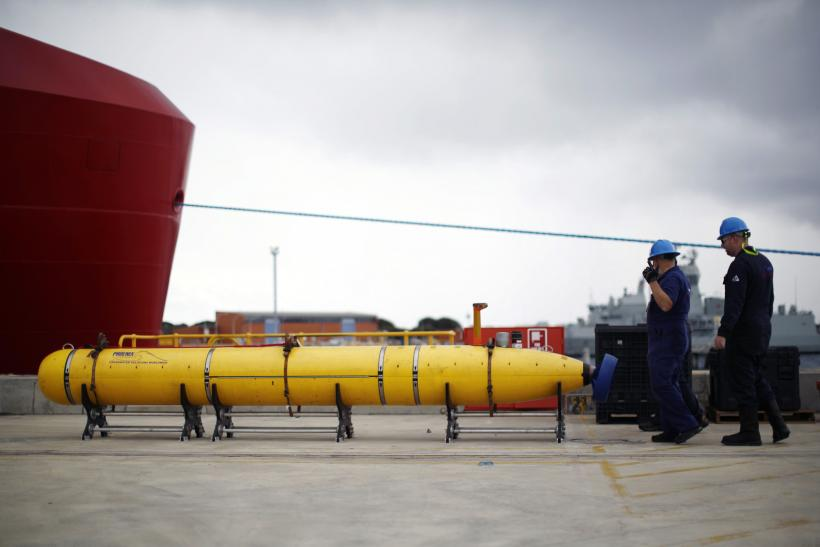 MH370 Phoenix underwater mapping robot March 30