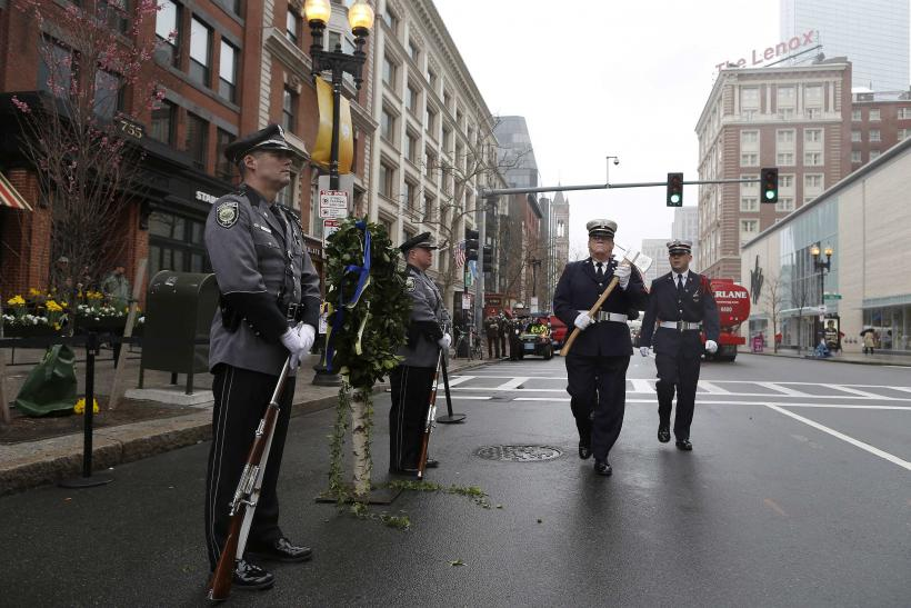 Boston Marathon Bombing Anniversary Honor Guard