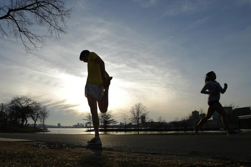 Boston Marathon Training - Chorney Stretches