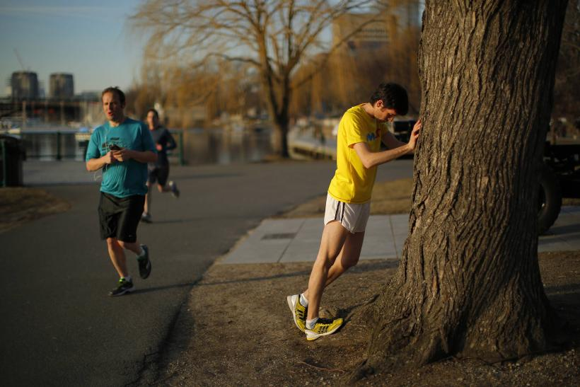 Boston Marathon Training - Chorney