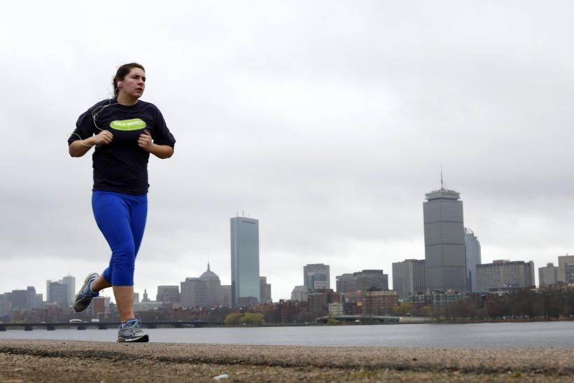 Boston Marathon Training - Jogger