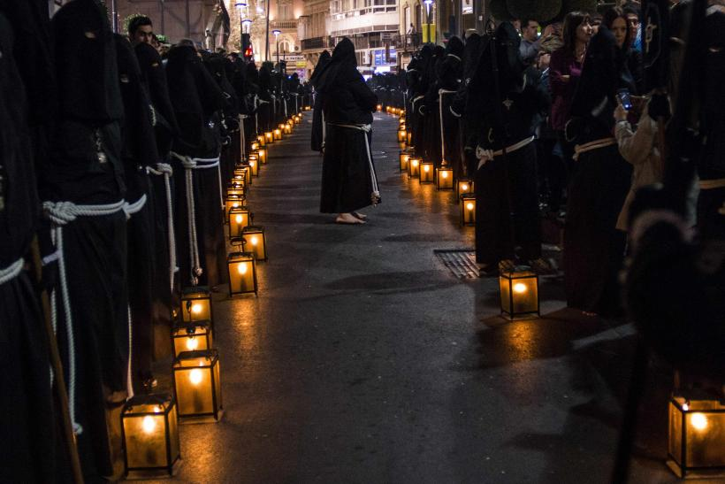 Holy Week - Penitent Candles Spain