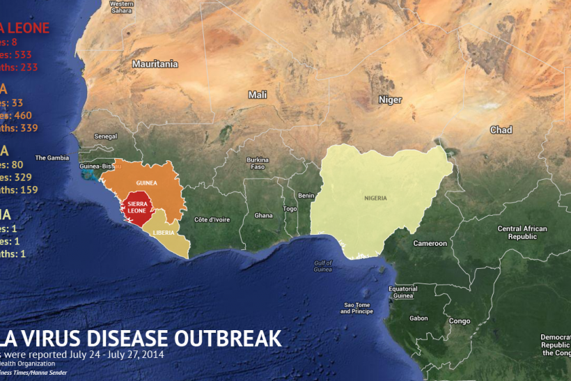 the outbreak of the ebola virus in west africa The ebola virus threat is on the loose again following a fresh outbreak of the killer disease in the democratic republic of congo in west africa, officials confirmed on tuesday but where is the .