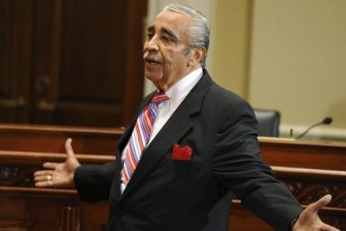 U.S. Representative Charles Rangel (D-NY) speaks during a hearing of the House Adjudicatory subcommittee at Capitol Hill in Washington, November 15, 2010.