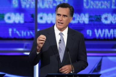 Former Massachusetts Governor Mitt Romney