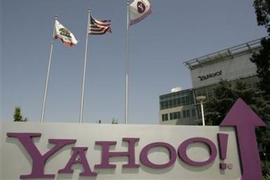 Yahoo headquarters shown in Sunnyvale