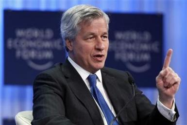JP Morgan Chase Chief Executive Officer Jamie Dimon